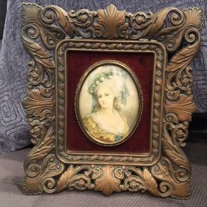 beautiful vintage Victorian ladies. Framed cameos